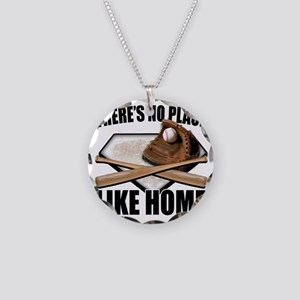 NoPlaceLikeHome copy Necklace Circle Charm
