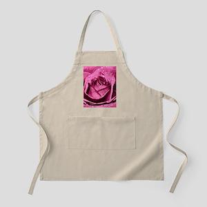 Elegant Pink Rose Apron