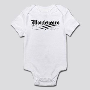 Montenegro Gothic Infant Bodysuit