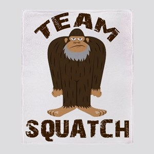Team Squatch Throw Blanket