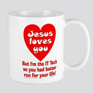 the IT Tech... Mug