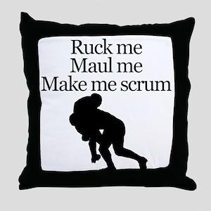 Make Me Scrum Throw Pillow