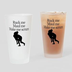 Make Me Scrum Drinking Glass
