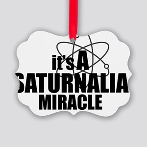 Saturnalia Miracle Picture Ornament