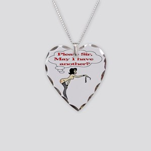 Please Sir, May I have anothe Necklace Heart Charm