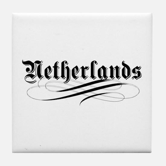 Netherlands Gothic Tile Coaster