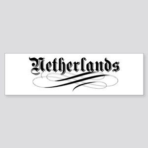 Netherlands Gothic Bumper Sticker
