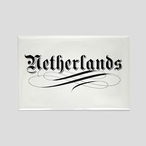 Netherlands Gothic Rectangle Magnet