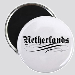 Netherlands Gothic Magnet