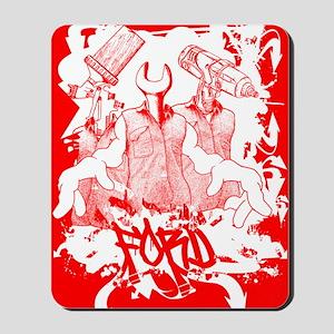 redGraff Mousepad