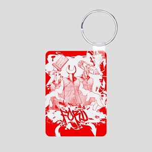 redGraff Aluminum Photo Keychain