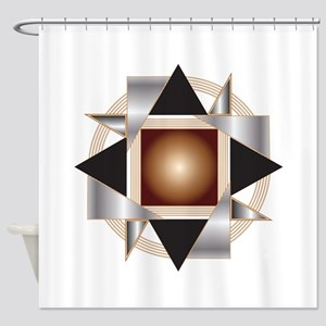 55-4 Shower Curtain