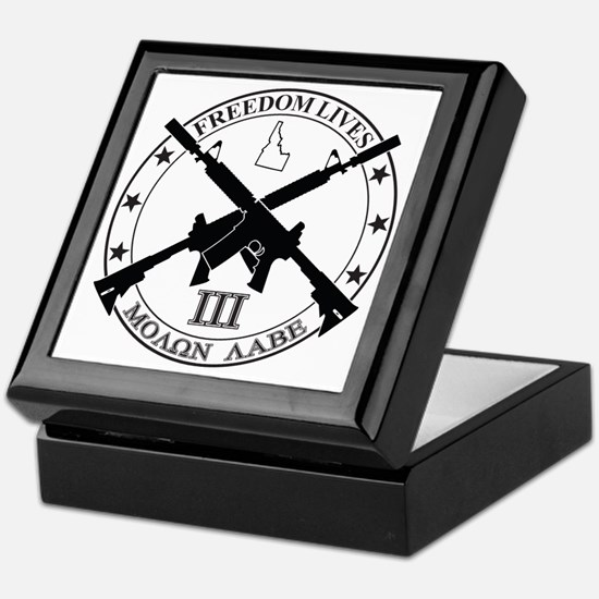 Freedom Lives ID Keepsake Box