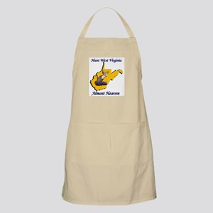 Almost Heaven Whitetail Deer Hunting BBQ Apron