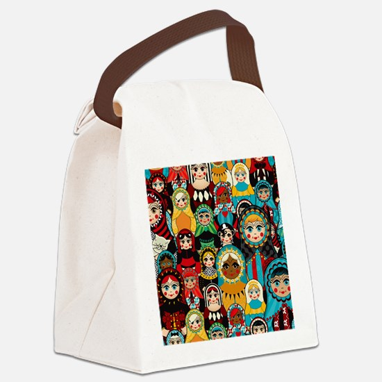 Matryoshka Canvas Lunch Bag