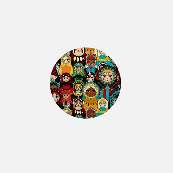 Matryoshka Mini Button