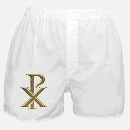 Golden 3-D Chiro Boxer Shorts