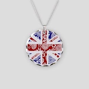 Paisley Jack Necklace Circle Charm