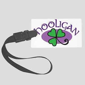 hooligan purple Large Luggage Tag