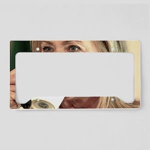 Hillary Clinton License Plate Holder