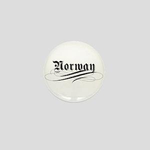 Norway Gothic Mini Button