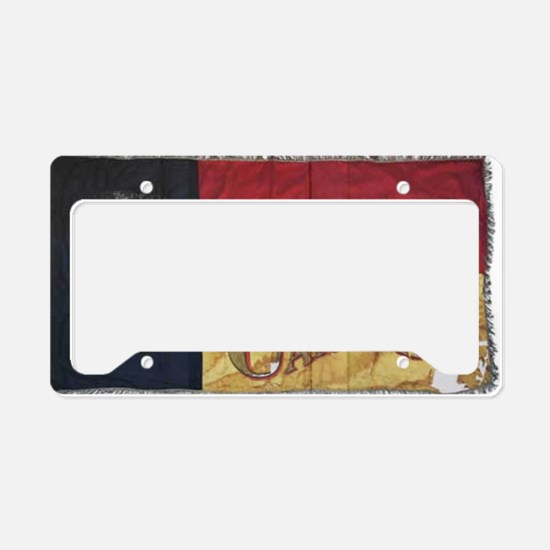 NC Flag Faded License Plate Holder