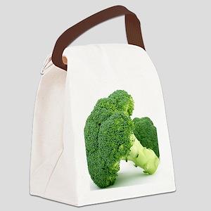 F & V - Broccoli  Design Canvas Lunch Bag