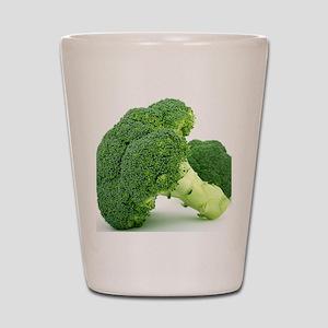 F & V - Broccoli  Design Shot Glass