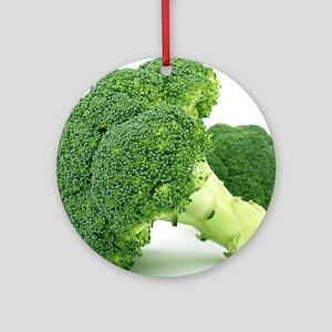 F & V - Broccoli  Design Round Ornament