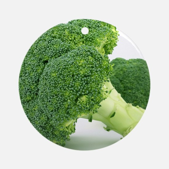 F & V - Broccoli  Design Round Ornament