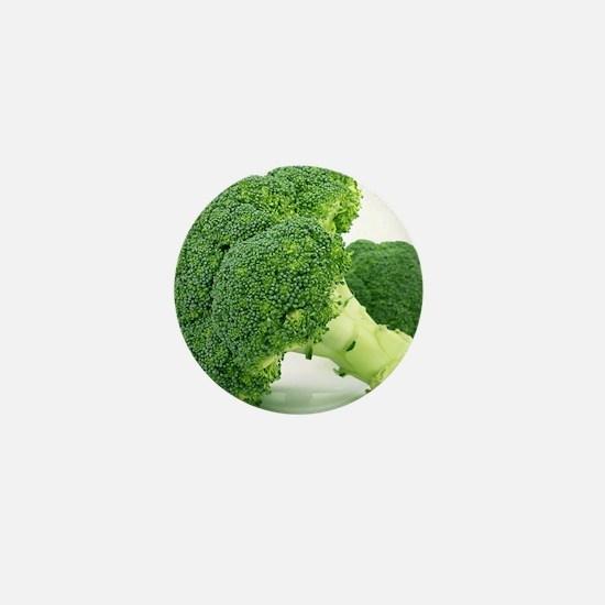 F & V - Broccoli  Design Mini Button