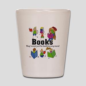 Books Bedtime Shot Glass