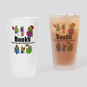 Books Bedtime Drinking Glass