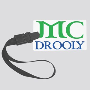 McDrooly green blue Large Luggage Tag