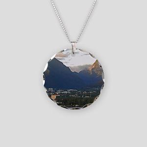 Maui Coast Necklace Circle Charm