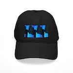 Blue Sea Snake Pattern S Baseball Hat