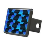 Blue Sea Snake Pattern S Hitch Cover