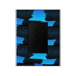 Blue Sea Snake Pattern S Picture Frame