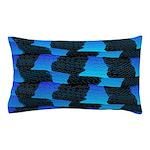 Blue Sea Snake Pattern S Pillow Case