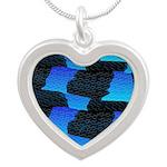Blue Sea Snake Pattern S Necklaces