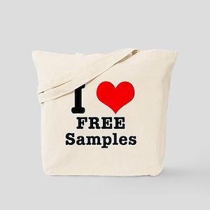 I Heart Love Free Samples Tote Bag