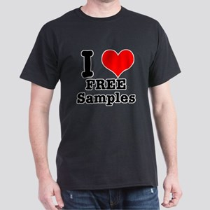 I Heart (Love) Free Samples Dark T-Shirt
