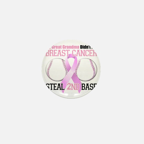Great Grandma Didnt Let Breast Cancer  Mini Button