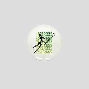 Abstract Lacrosse Mini Button