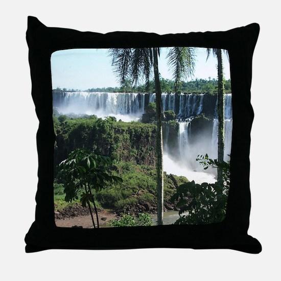 Iguazu falls 2 Throw Pillow