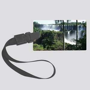 Iguazu falls 2 Large Luggage Tag