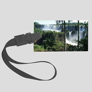 Iguazu falls 2 Large Luggage Tag