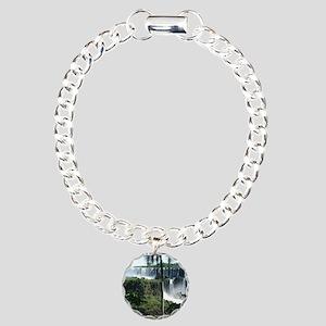 Iguazu falls 2 Charm Bracelet, One Charm