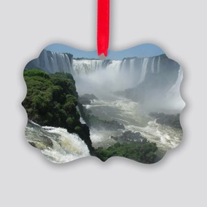 Iguazu falls 3 Picture Ornament