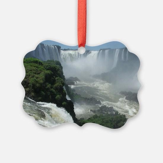 Iguazu falls 3 Ornament